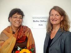 Foto Roswitha Neukirch (Bethe Stifung Köln) und Ulrike Mund (EigenSinn)